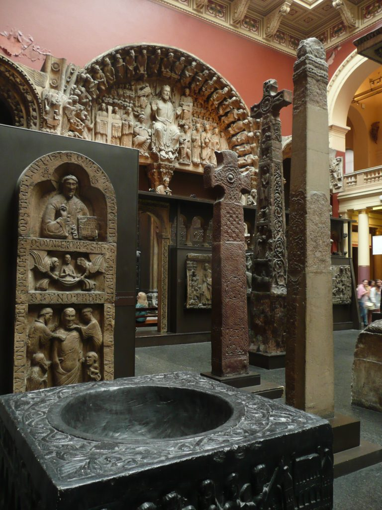 Cast Court in Victoria and Albert Museum, London, monuments from north-west Europe (c) Sally Foster