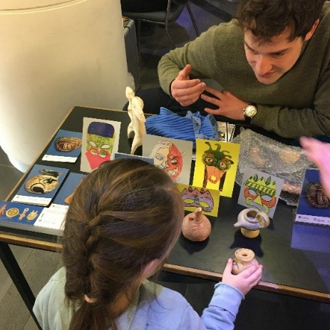 Family Discovery Day. © School of Classics, University of St Andrews